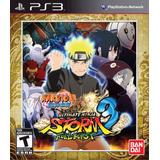 Naruto Ultimate Ninja Storm 3 Full Burst Nuevo Ps3 Dakmor