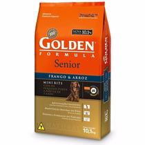 Ração Premier Golden Formula Cães Sênior Mini Bits 10 Kg