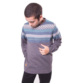 Super Outlet Sweater Rusty Cavern Gris Para Hombre