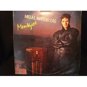 Miguel Mateos Zas Mensajes Disco De Vinilo