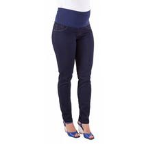 Calça Jeans Gestante Skinny Gabriela