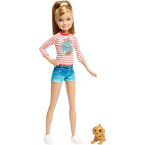 Barbie Y Sus Hermanas En The Great Adventure Cachorro Stacie