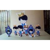 Rei Davi 10 Totem De Festas De 15 A 20cm +brinde