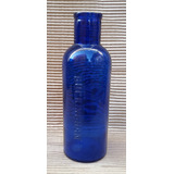 Botella De Vidrio De Farmacia Color Azul Buckinghran