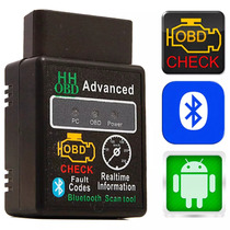 Scanner Automotivo Universal Obd2 Bluetooth Versão 2017