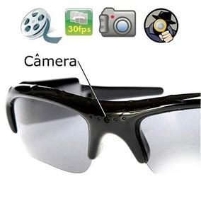 Óculos Espião De Sol Qualidade Hd 720p Imperceptível