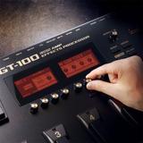 Boss Gt100 V.230 Pedalera Multiefectos Guitarra Eléctrica