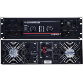 Power Amplificador American Audio Cerwin Vega Crest Audio