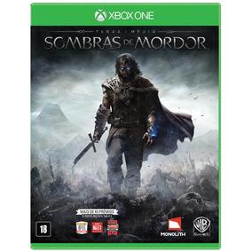 Terra-média - Sombras De Mordor - Xbox One