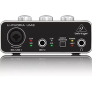 Behringer U-phoria Um2 Audiophile 2x2 Interfaz De Audio Usb