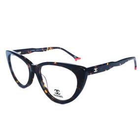 Armação Óculos De Grau Ch3288 Feminino Cat Gatinho Acetato