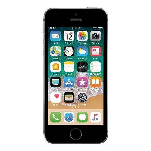 iPhone SE 64 GB gris espacial