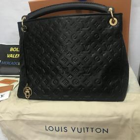 Bolsa Louis Vuitton Artsy Negra Empreinte Mm Lv En Caja Piel
