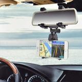 Suporte Para Carro Celular Gps Apple Galaxy Retrovisor Taxi