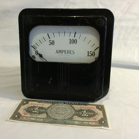 Amperímetro Antiguo D Colección 150 Amperes Westinghouse
