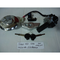 Chave Ignicao Titan 150 Injecao Eletronica Kit Completo 09