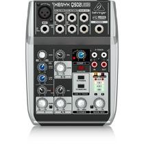 Mesa De Som Q502usb Xenyx Behringer Mixer Q502 Usb Q-502