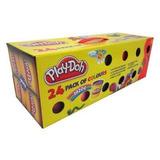Plastilina Play Doh Con 24 Botes De Colores Masilla