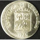 Dificil Error Puya 5 Centimos De 1965 Descentrada