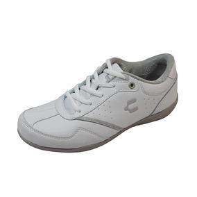 Zapato Escolar Tennis Charly 18-1044453 Niña Blanco Rudos