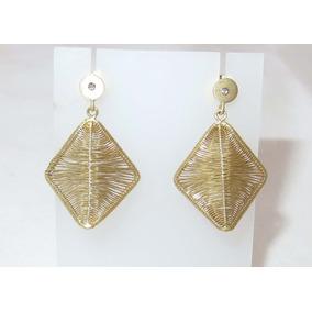 Pocao2005- Brincos De Ouro 18k750 Diamante Grife Vivara B454