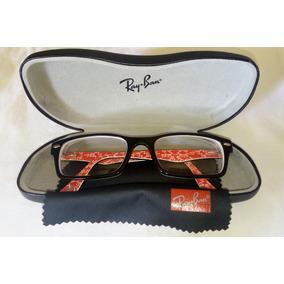 c6c6dd527c44a Ray Ban Rb5206 52 Vermelho - Óculos no Mercado Livre Brasil