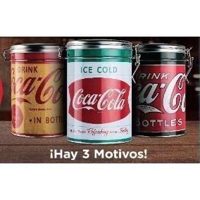 Latas De Coca Coleccionables, Lote X 3, Cierre Hermetico..