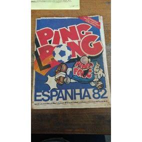 Álbum Ping Pong Copa 82 Espanha 82 Original Completo