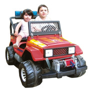 Jeep A Bateria Toyota 12v. Biplaza Luces Malacate 2 Asientos