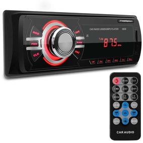 Som Automotivo Radio Fm Usb Mp3 Pendrive Cartão Sd Controle
