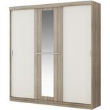 Guarda-roupa Allegro Unno 885 Branco Facility Compras