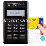 Máquina Maquininha Point Mini Cartão Crédito Débito S/ Taxas