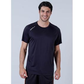 Camiseta Masculina Speedo Proteção Uv50 Preto