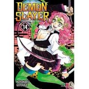 Manga - Demon Slayer: Kimetsu No Yaiba 14 - 6 Cuotas