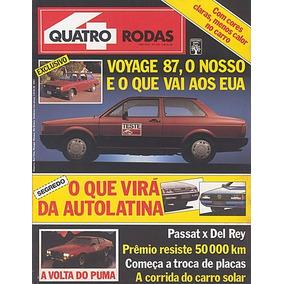 4r.319 Fev87- Puma Gtb Prêmio Voyage Passat Del Rey Placa