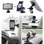 Suporte Universal Veicular Celular Samsung Moto G Gps Iphone