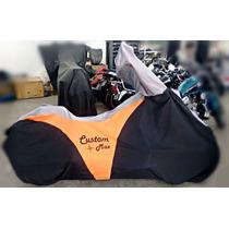 Capa De Moto Custom Kawasaki Vulcan 900 Guidao Alto Ou Baixo