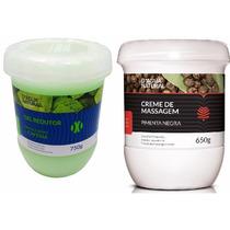 Kit Gel Redutor + Creme Pimenta Negra Dágua Natural