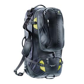 Mochila Traveller 80+10 Preto - Deuter + Nf + Garantia