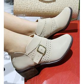 Zapato Tacón Bota Botin Texana Calzado Mujer Dama 35/40