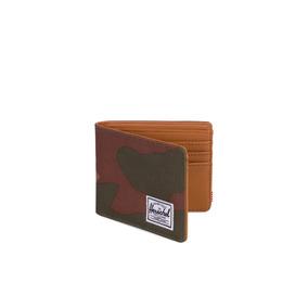 Billetera Herschel Supply Co. Hank Rfid Verde Camuflado