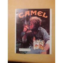 Hermoso Cartel Antigua Publicidad Camel Dècada Del 80 !!!