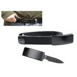 Cinto Tatico Faca Canivete Oculta Fivela Belt Knife / Ds4830