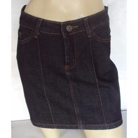 Linda Mini Saia Em Jeans Com Elastano Marca Sawary