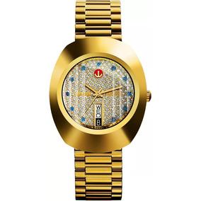 Reloj Rado Automatico Diastar Dorado R12413313 Original