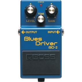 Pedal Boss Bd-2 Blues Driver Para Guitarra Bd2 Na Sonic Som