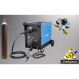 Maquina Solda Mig Mag 210 Amp 220v Completa C Cilindro Gamma