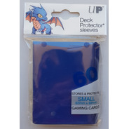 Micas Ultra Pro Small Deck Protector Blue - Azul