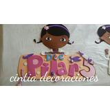 Cartel Doctora Juguetes Para Decoración, Cumpleaños, Etc