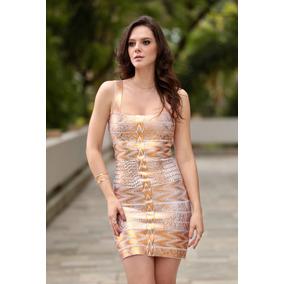 b924bd36f Vestido Curto Preto E Dourado Sexy Festa Balada Panicat - Vestidos ...
